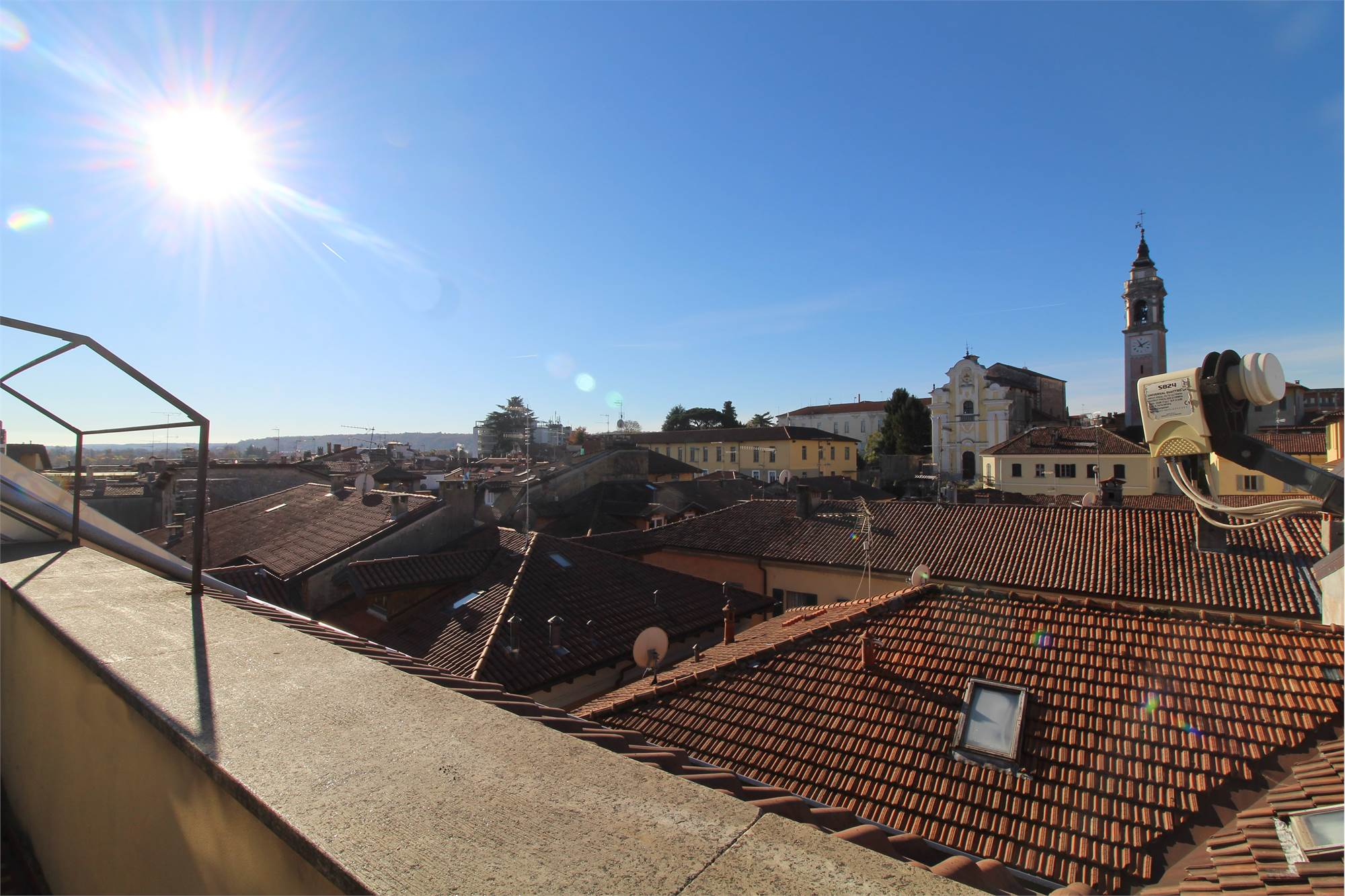 View on the rooftops